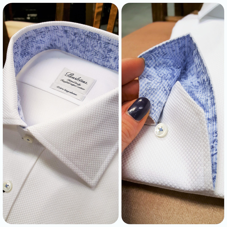 Miesten pukeutuminen valkoinen kauluspaita Stenströms 4 ... f2725a927d